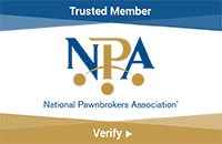 National Pawnbrokers Association Verified Member