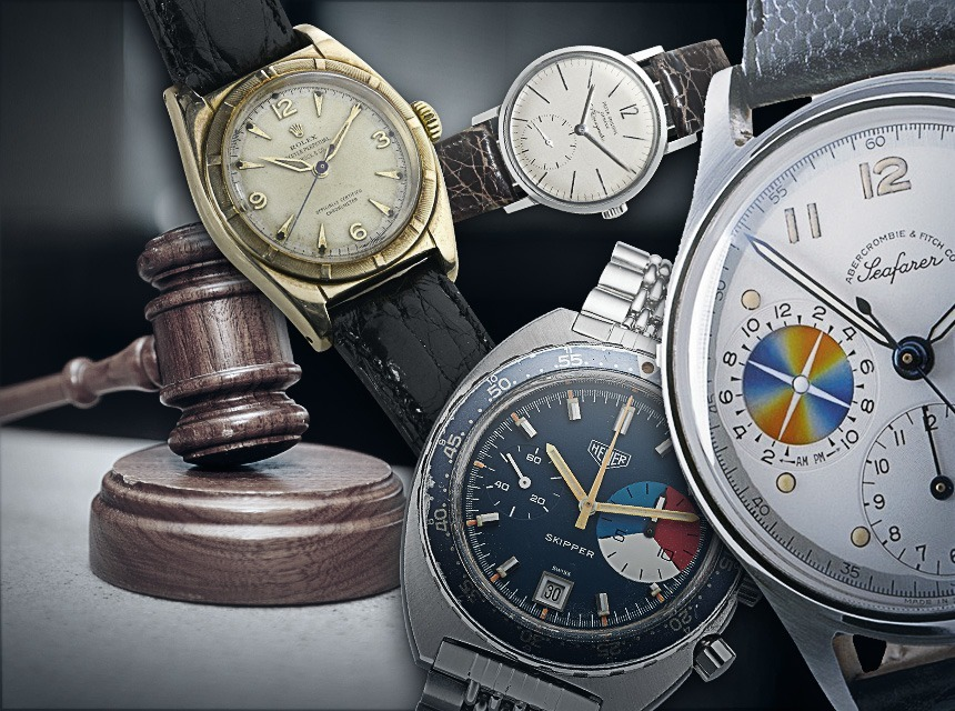 10 Things You Should Know About Wrist Watch Auctions