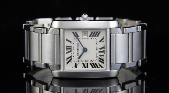 Women's Cartier Watch Tank Francaise Orange County