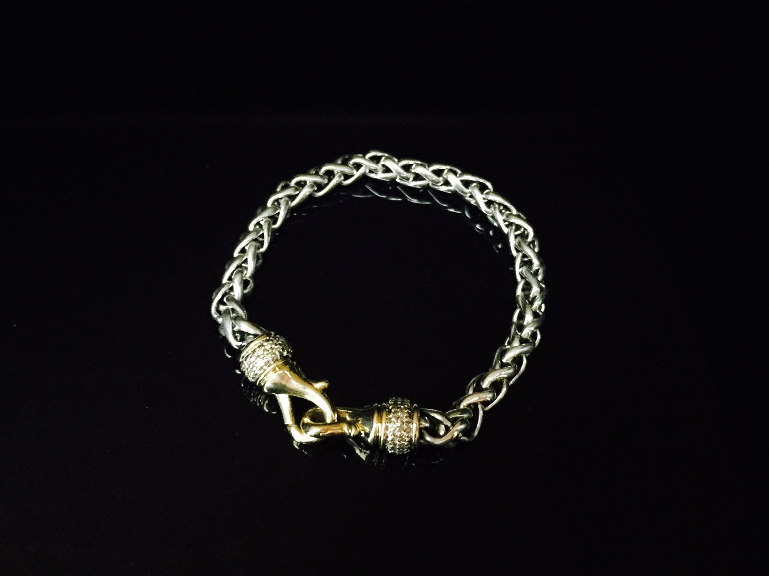David Yurman Wheat Diamond Bracelet - $1,500