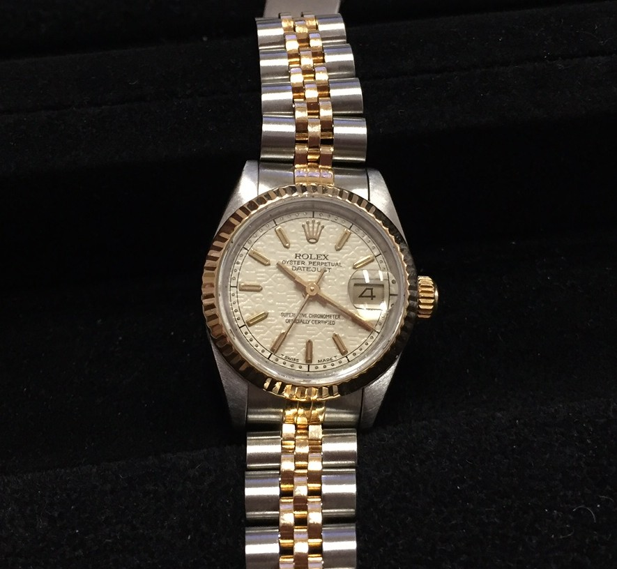 Rolex Ladies Two-Tone Datejust - $2600