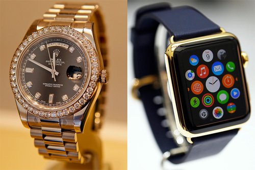 Apple Watch vs. Luxury Watch