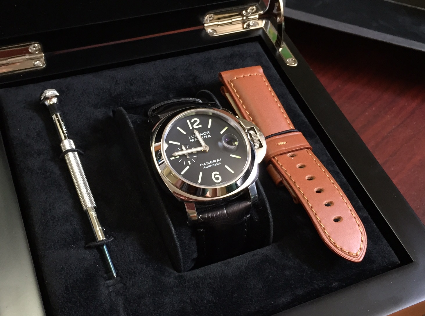 Panerai Luminor Marina Automatic - $3,900