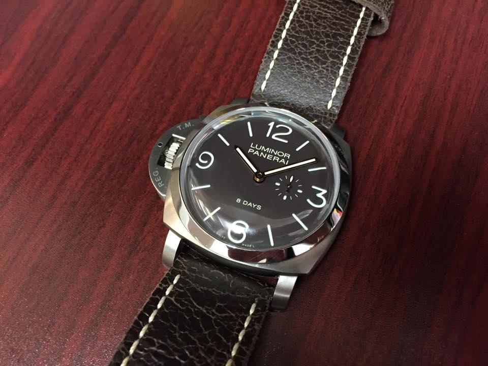 Panerai Luminor 8 Days Titanium - $10,500