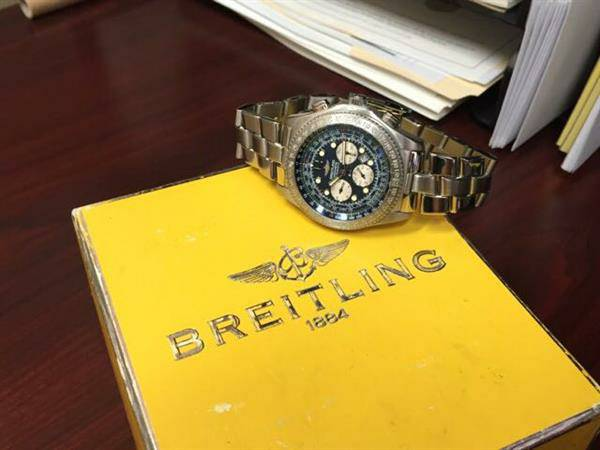 Breitling B-2 Watch w/ Box & Papers - $2,500