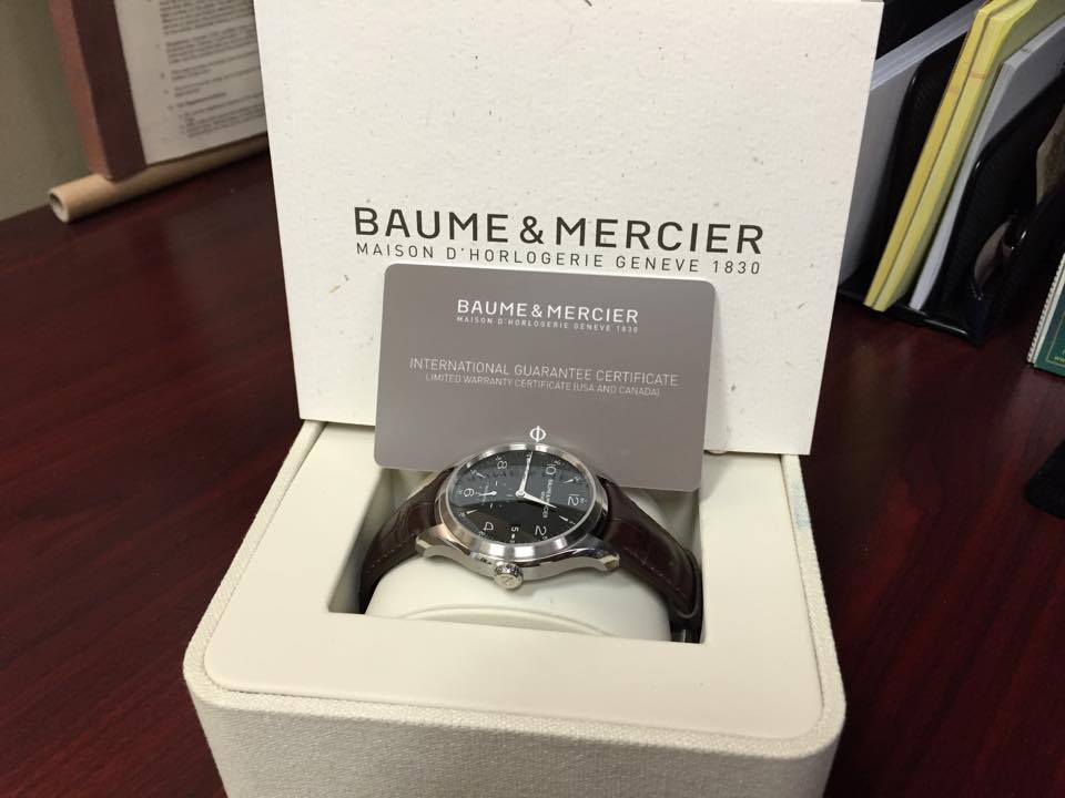 Baume & Mercier Clifton Automatic - $1,600