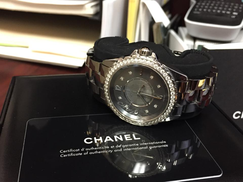 Chanel J12 Ceramic Diamond Watch-$8,500