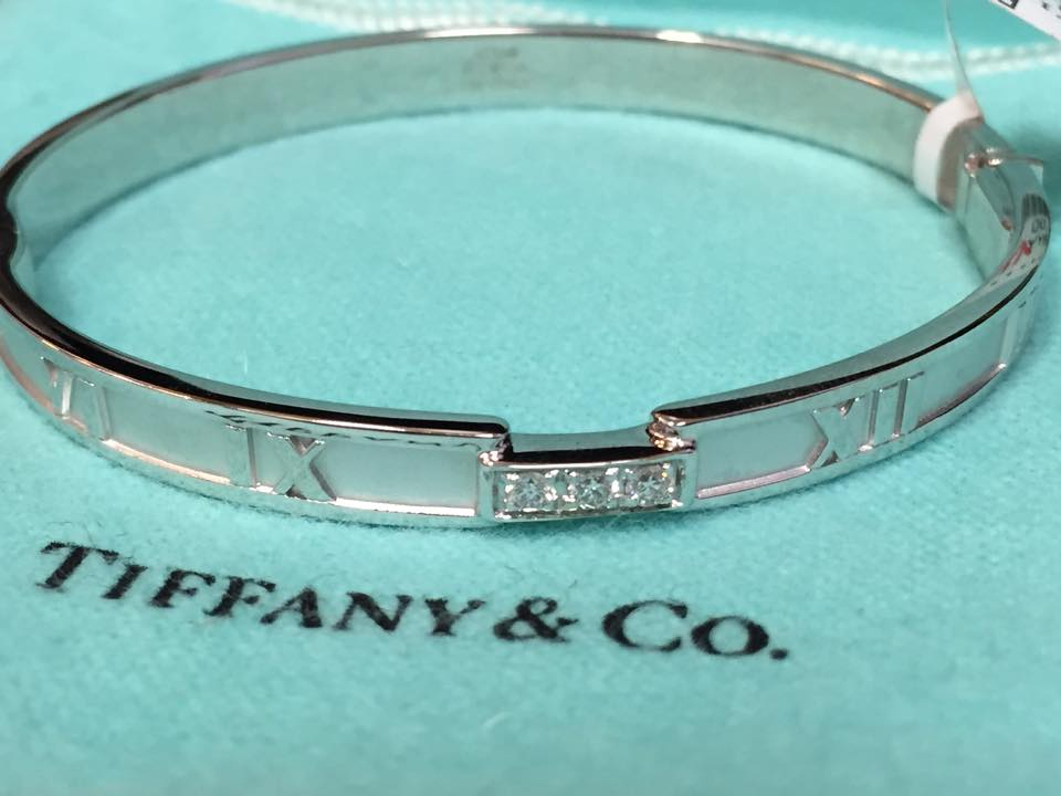 Tiffany & Co. Gold Atlas Bangle - $3,800