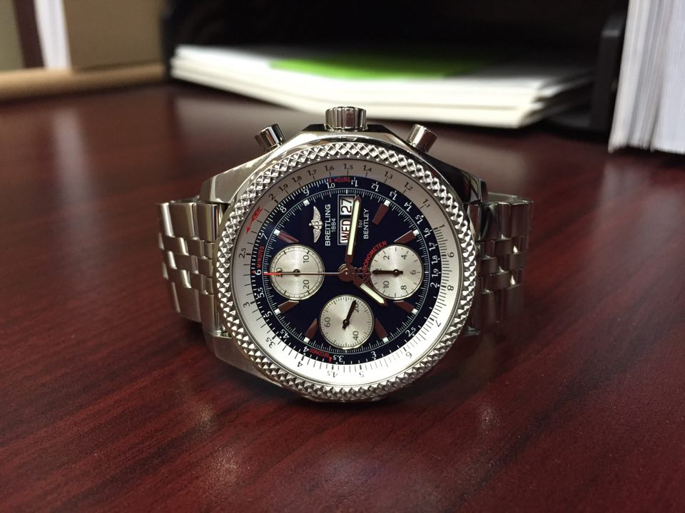 Breitling Bentley GT - $4200