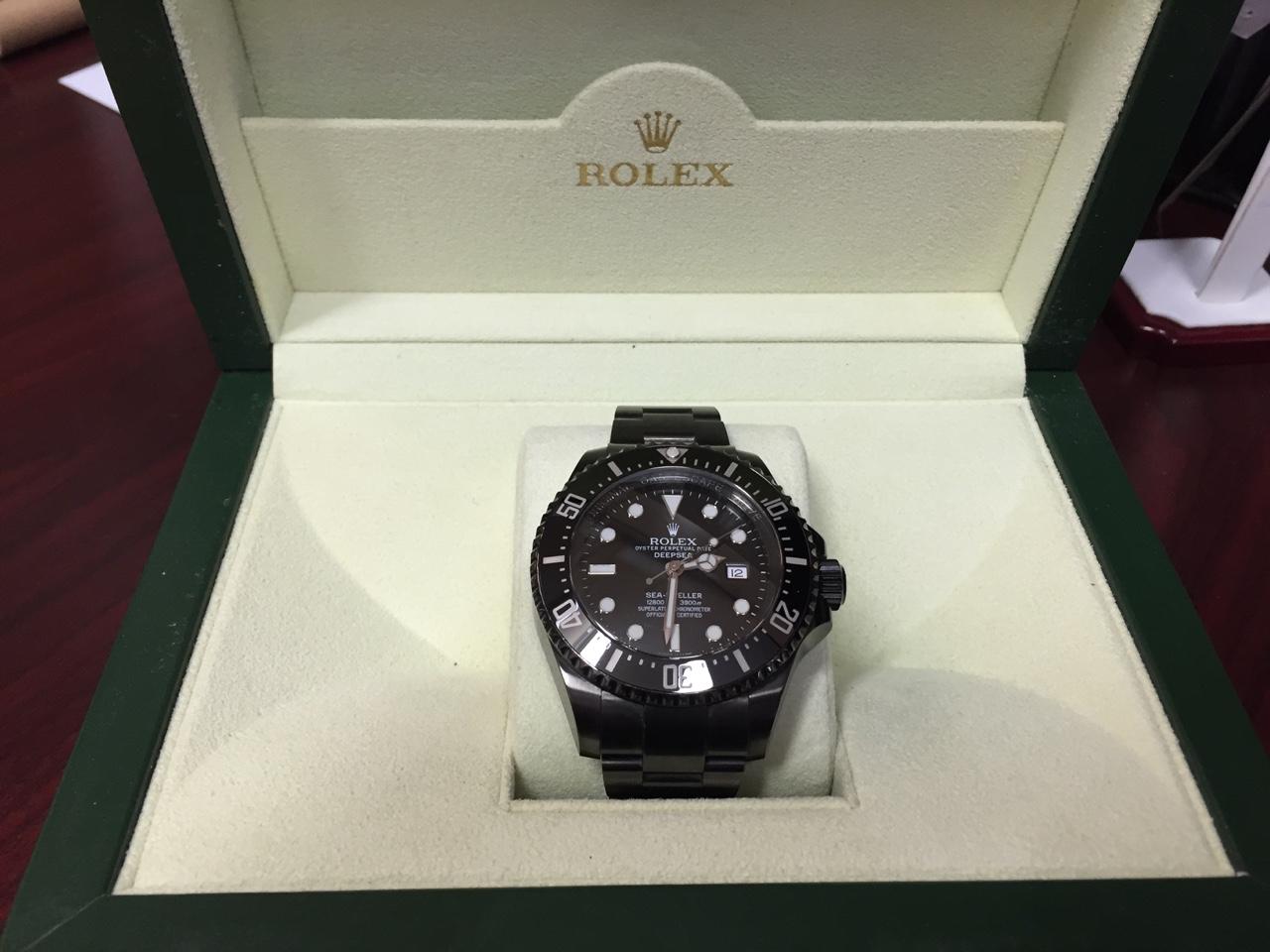 Rolex Sea-Dweller Deepsea PVD - $8,200