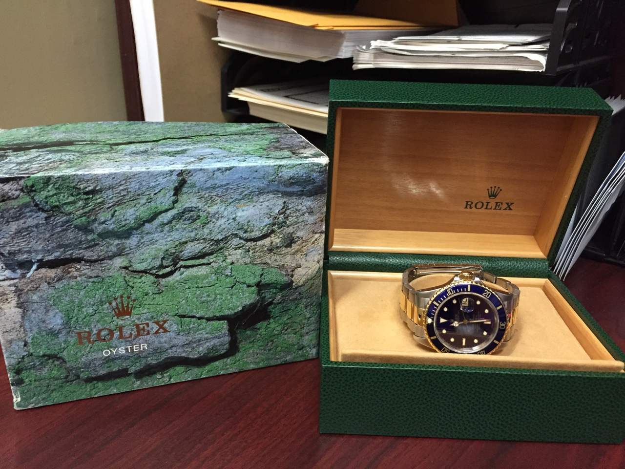 Rolex Two-Tone Submariner w/ Box - $6,500