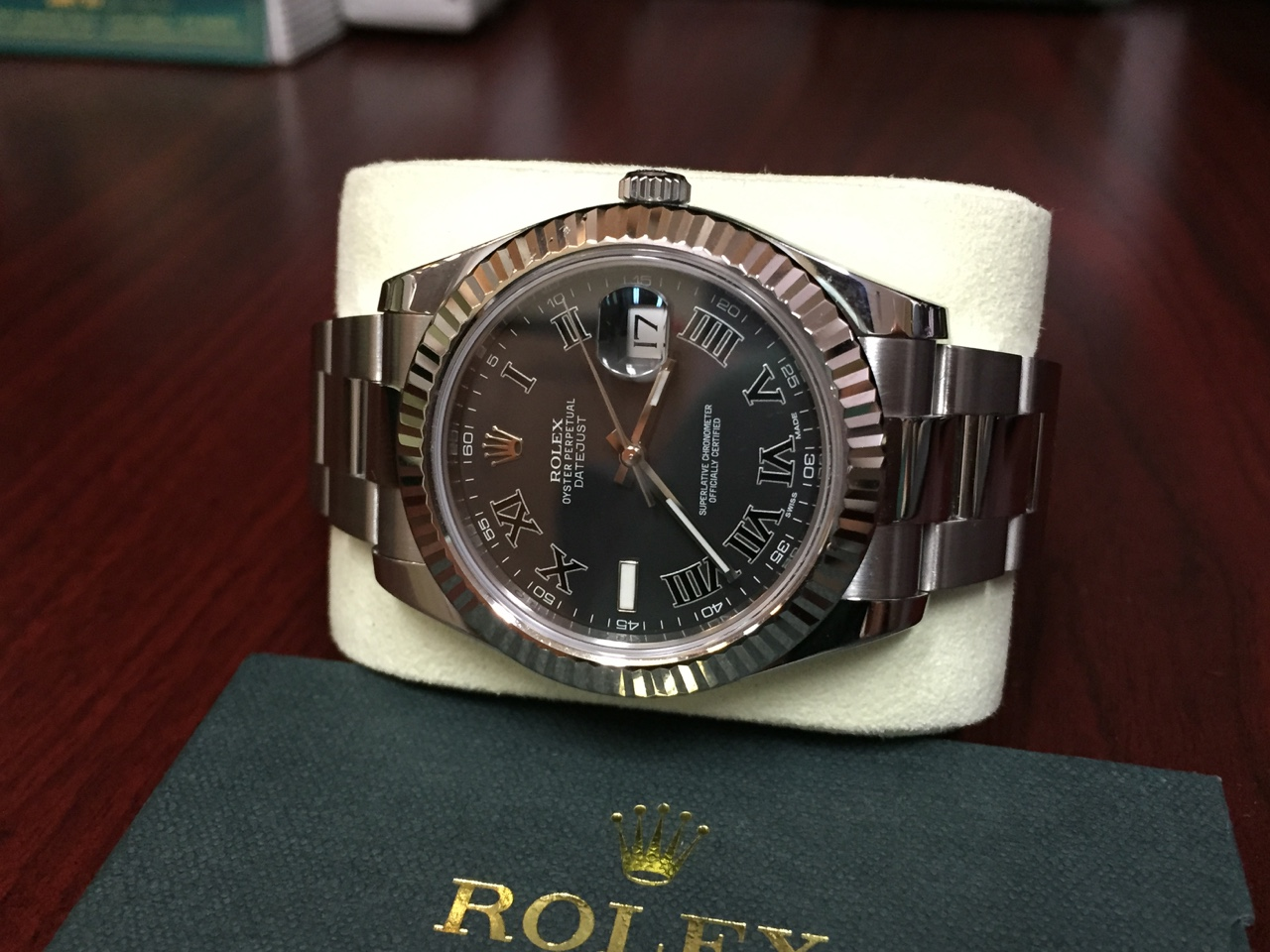 Rolex Datejust II with Box & Papers - $5,900