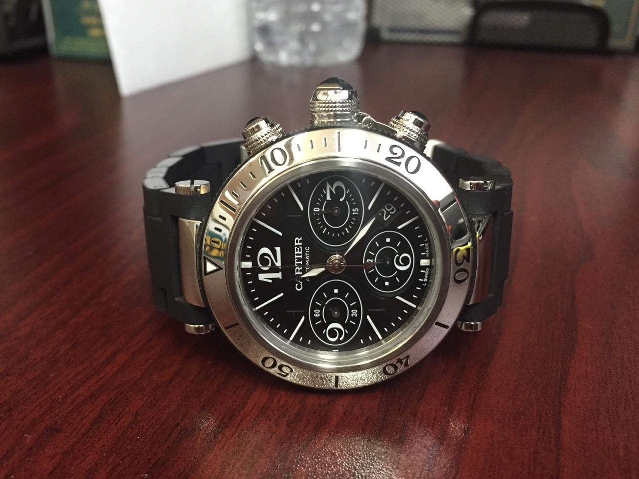 Cartier Seatimer Chronograph - $3,200