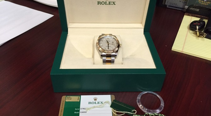 Rolex Two-Tone Datejust II