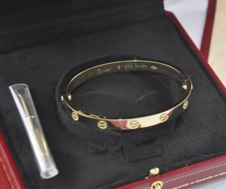Use the World's Most Popular Piece of Jewelry for a Loan – The Cartier Love Bracelet