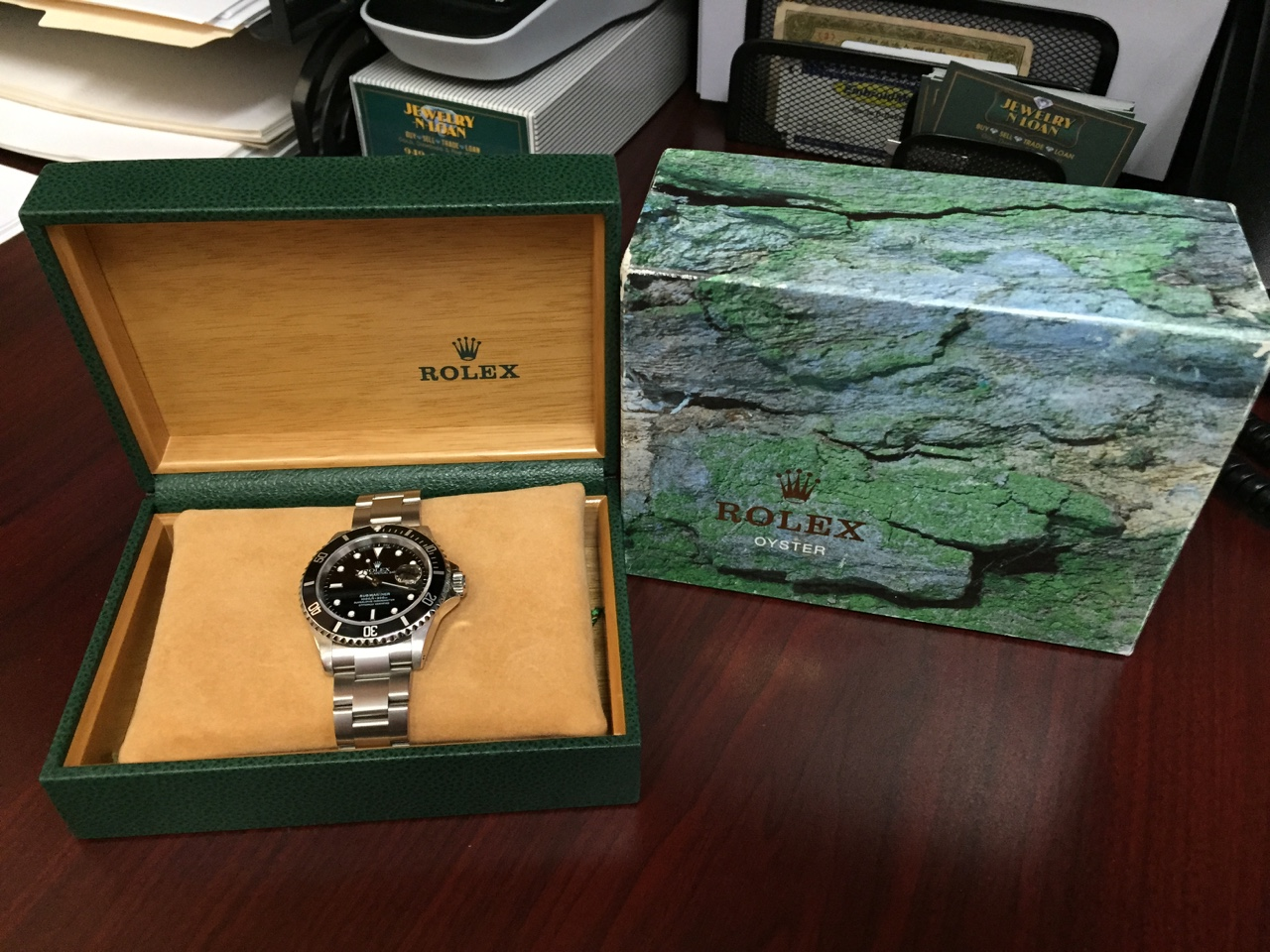 Classic Rolex Submariner with Box & Papers - $4,500