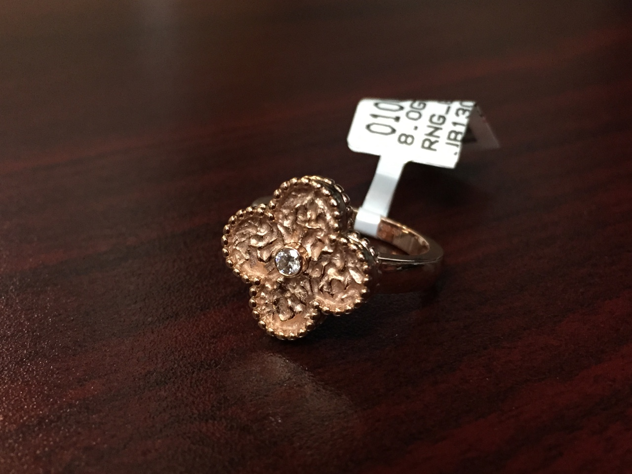 Van Cleef & Arpels Alhambra Ring - $2,000