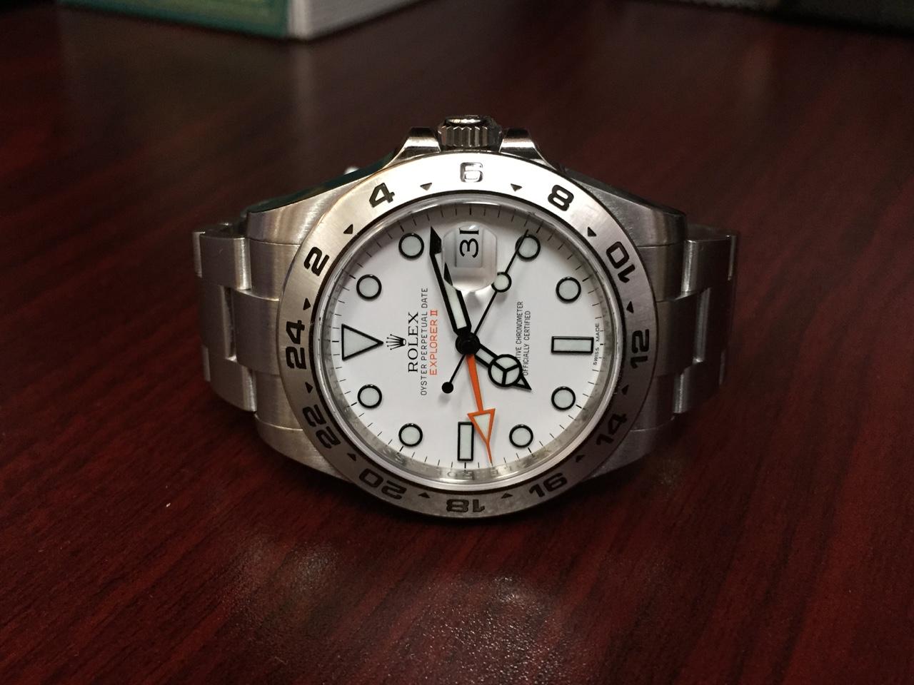 Rolex Explorer II - $6,000