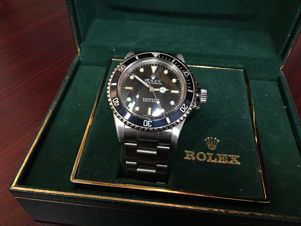 Rolex Submariner with Box & Papers - $5,000