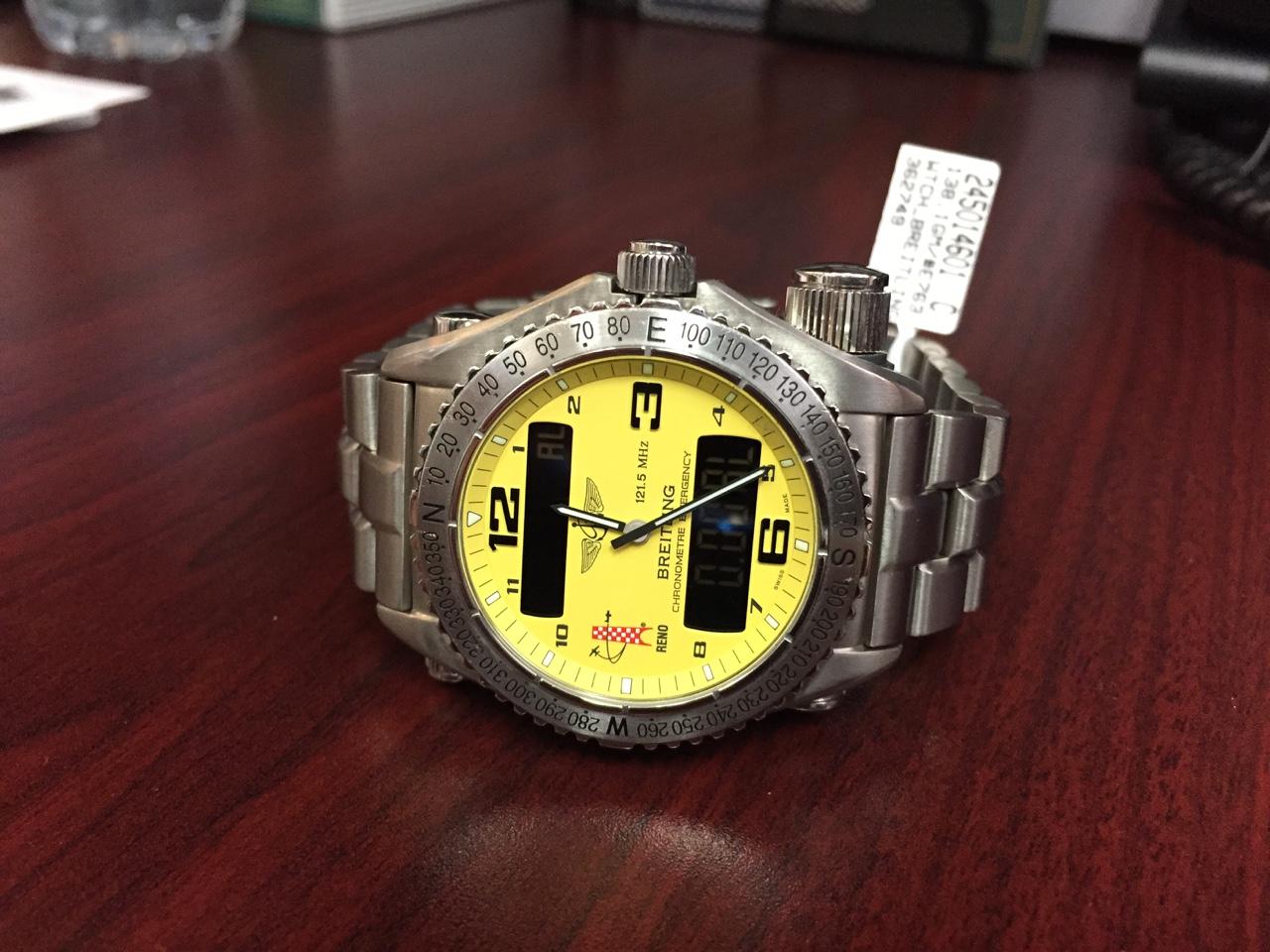 Breitling Emergency Superquartz - $4,000