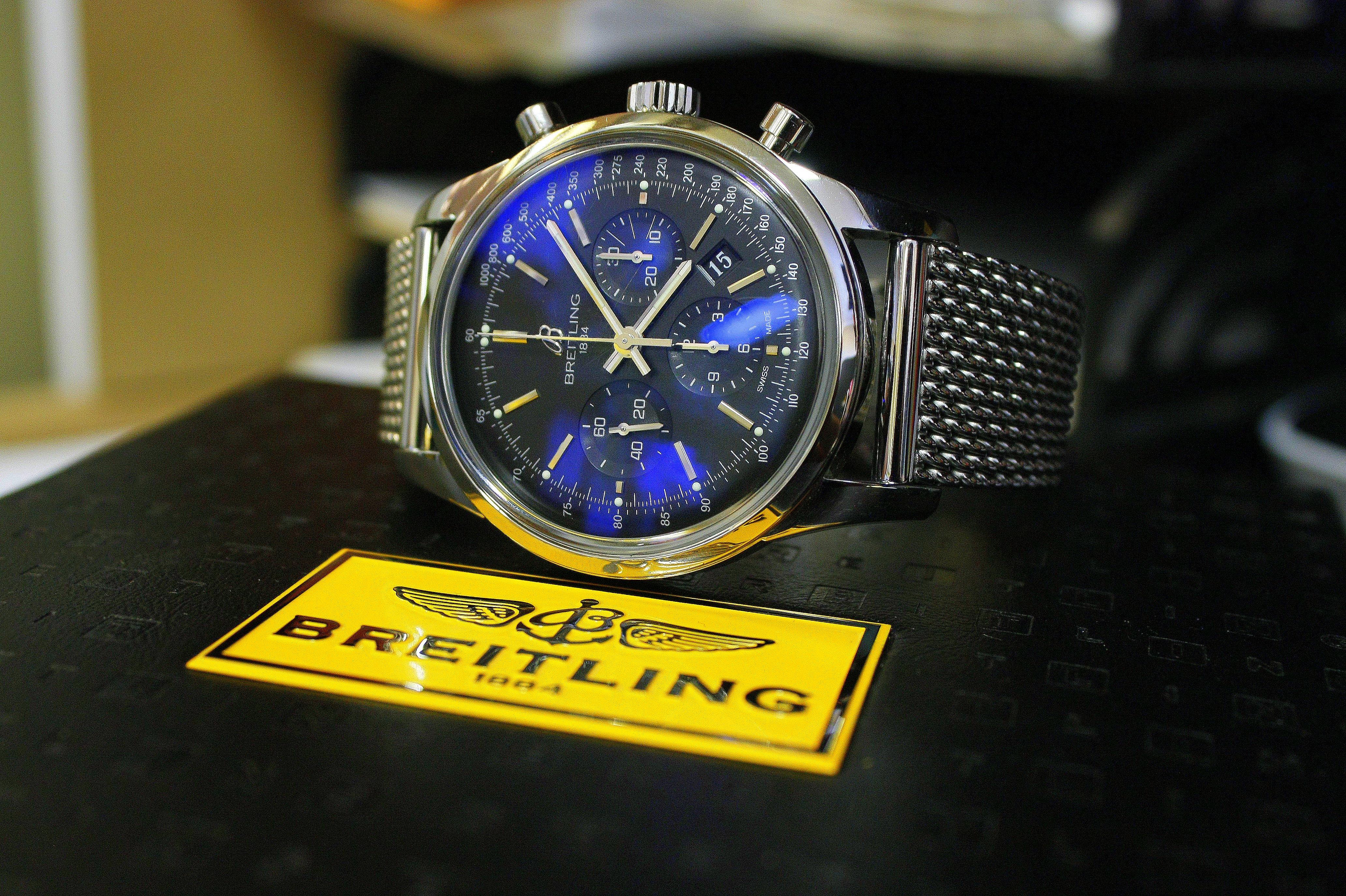 Breitling Transocean - $4,200