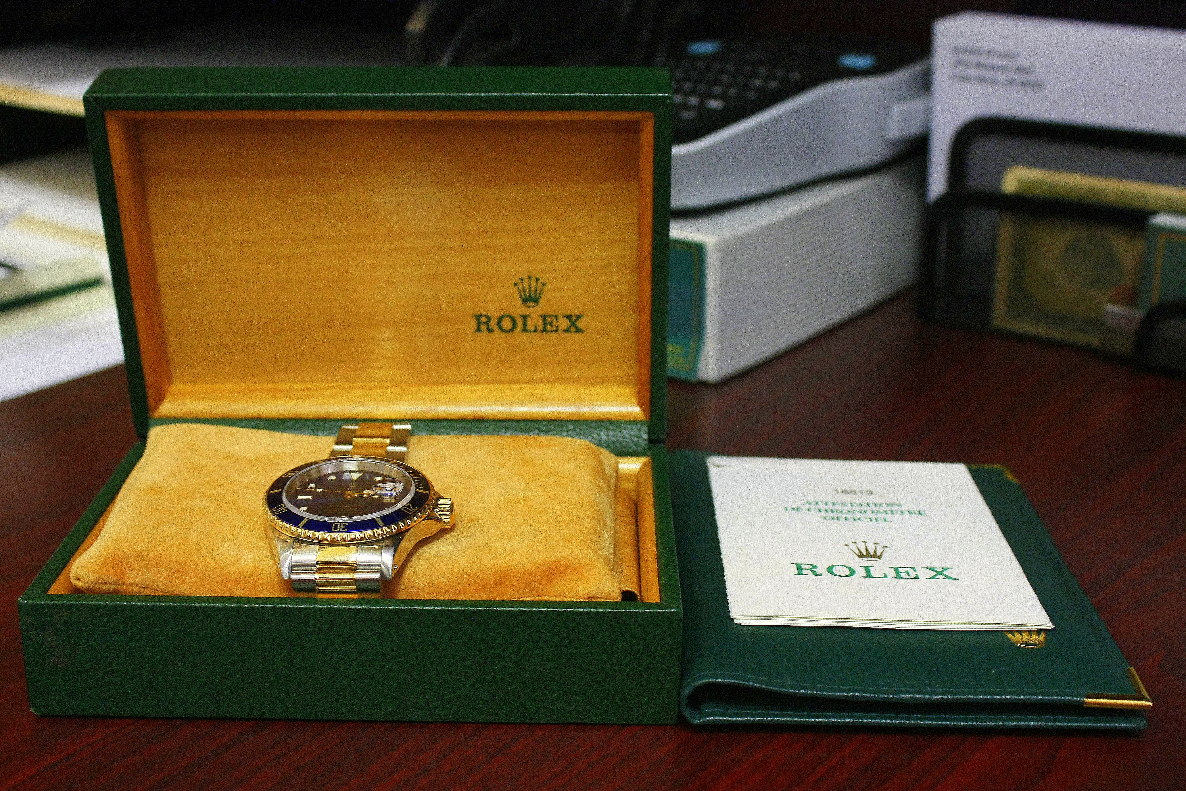 Rolex Two-Tone Submariner - $6,400