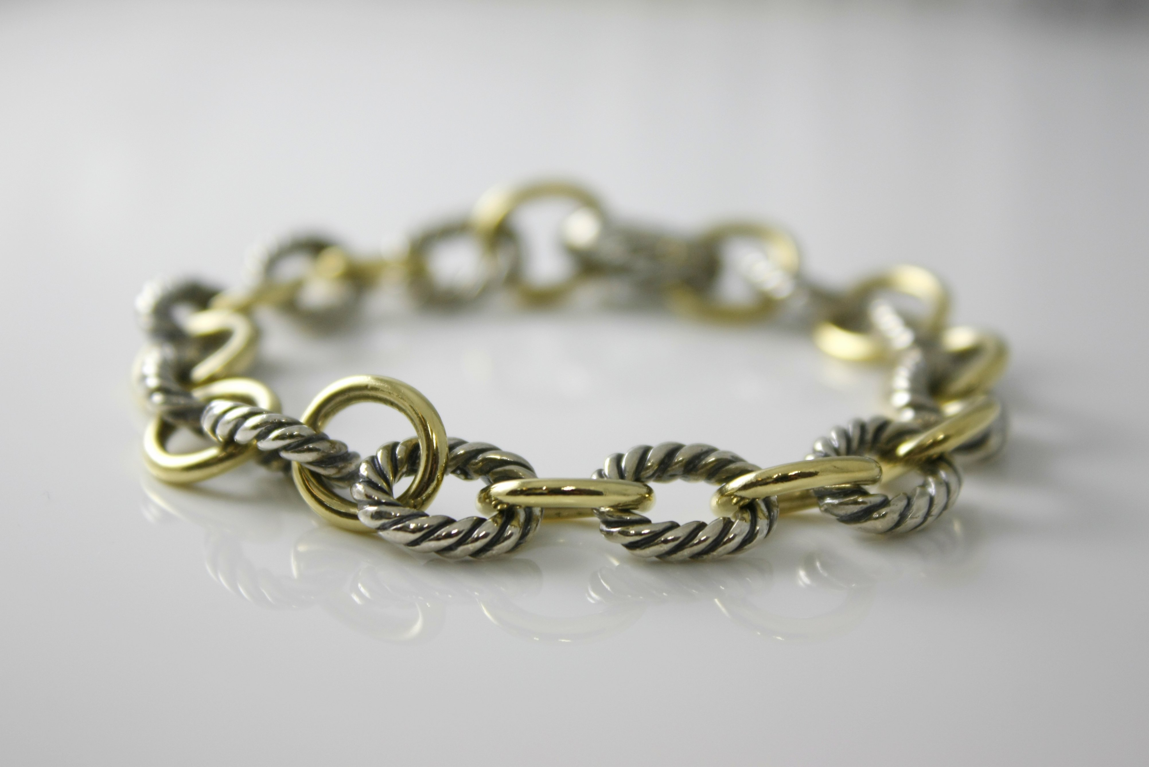 David Yurman Oval Link Bracelet - $950