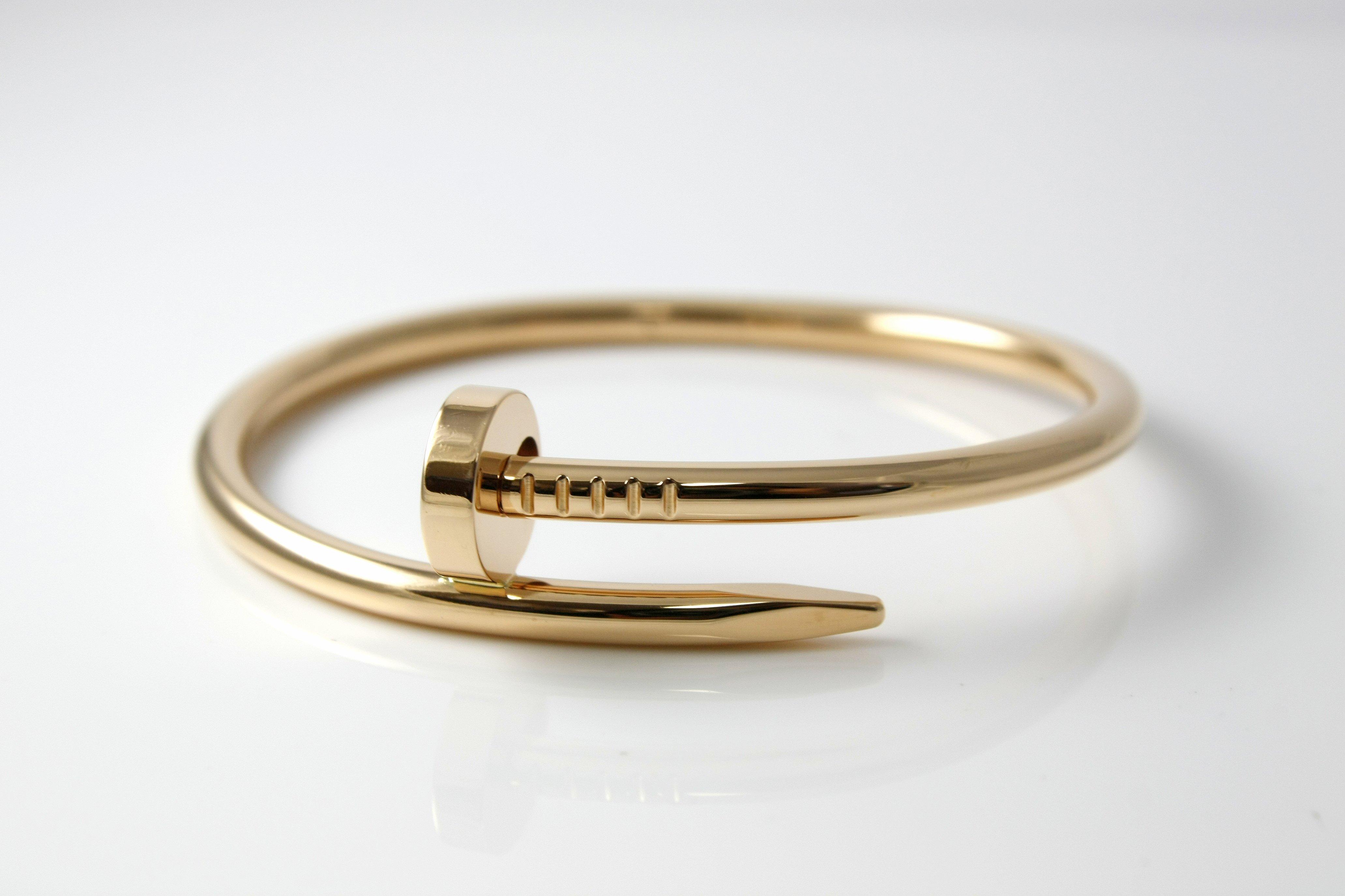 Cartier Juste un Clou Nail Bracelet - $5,000