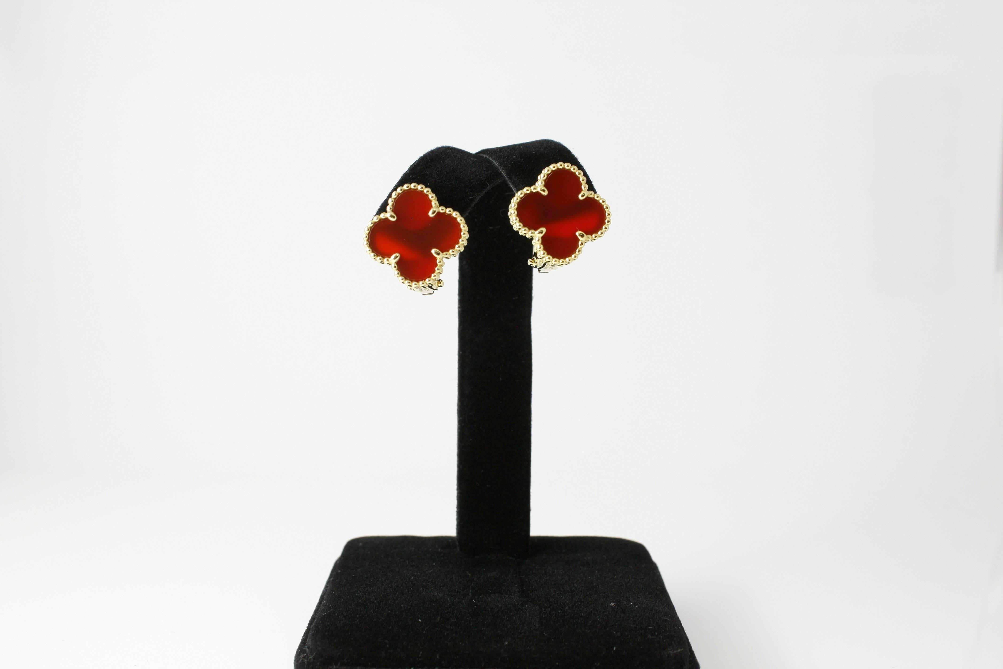 Van Cleef & Arpels Alhambra Earrings - $3,000