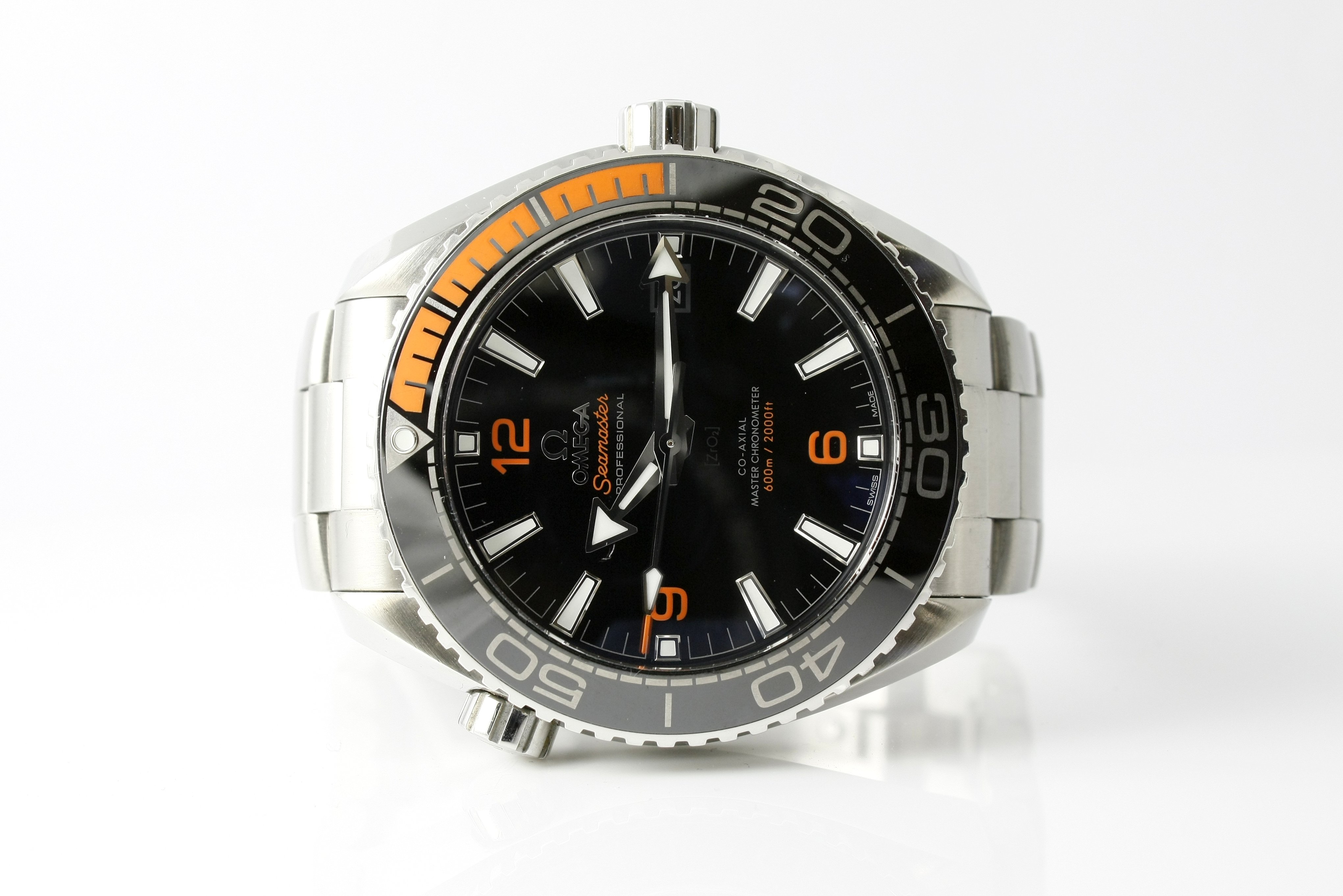 Omega Seamaster Planet Ocean Co-Axial - $4,600